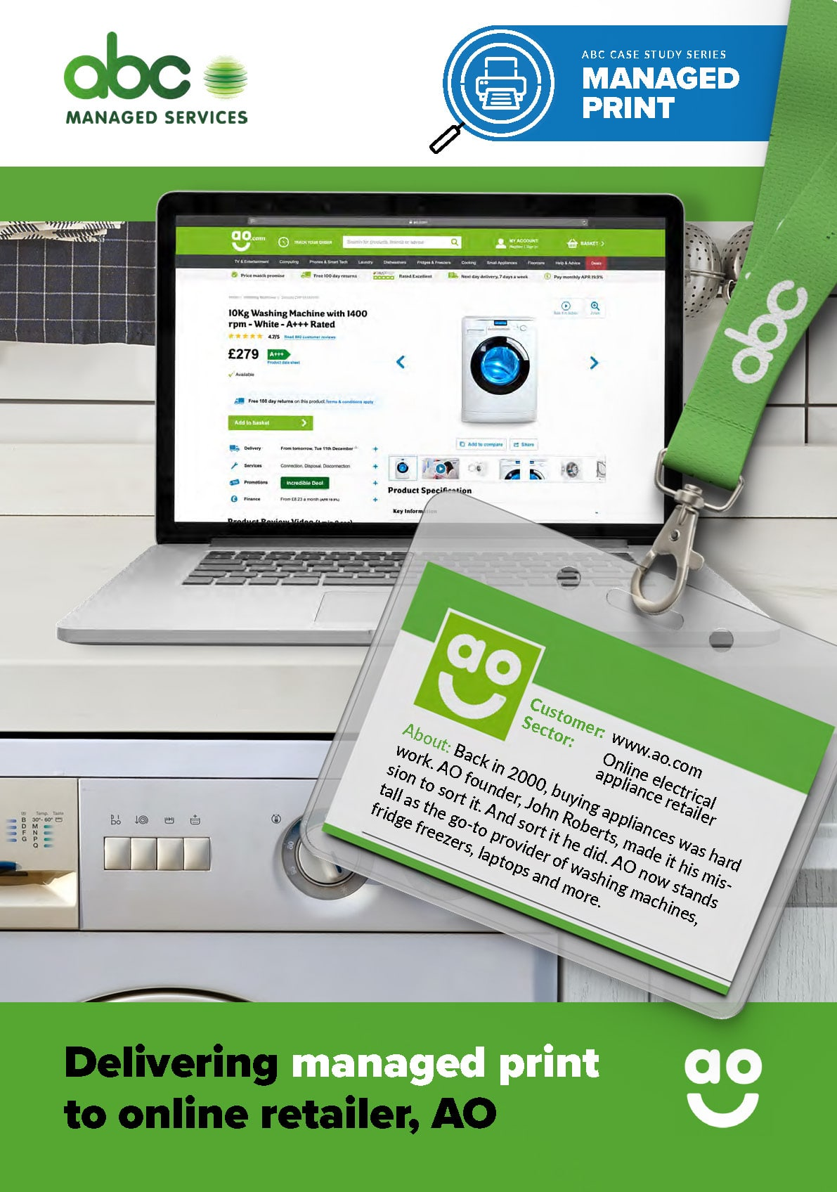 Case study: delivering managed print to online retailer, AO